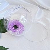 Материалы для творчества handmade. Livemaster - original item Plastic ball with a partition. Handmade.