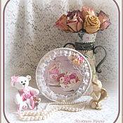 """Картины и панно ручной работы. Ярмарка Мастеров - ручная работа Панно """"Розовые грёзы"""" (Натюрморт """"Розовый шебби""""). Handmade."""