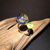 Кольца ручной работы. Ярмарка Мастеров - ручная работа Кольцо Огненная планета. Handmade.