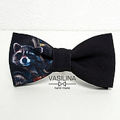 Аксессуары handmade. Livemaster - original item Copy of Bow tie marvel, Superheroes tie. Handmade.