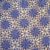 Аксессуары handmade. Livemaster - original item Blue shawl. Handmade.