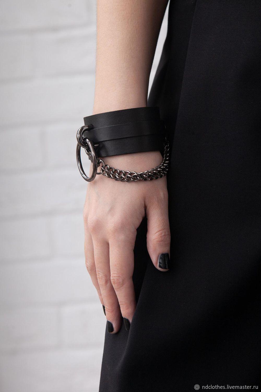 DIY bracelet with chain, Hard bracelet, Moscow,  Фото №1
