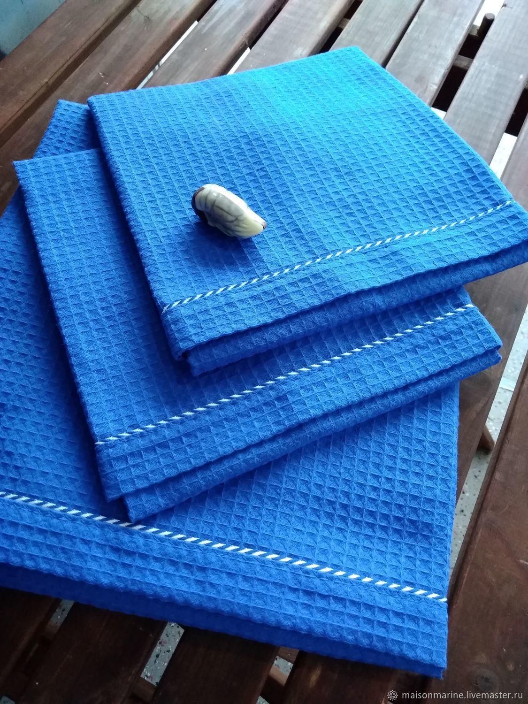 Towel Royal blue 42h68 cm, Towels, Moscow,  Фото №1
