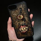 Субкультуры handmade. Livemaster - original item Phone case-Necronomicon. Handmade.