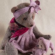 """Куклы и игрушки ручной работы. Ярмарка Мастеров - ручная работа Авторские мишки тедди """"Молли и Мила"""". Handmade."""