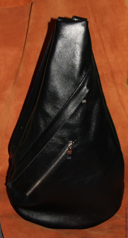 bb85a44659a6 Рюкзаки ручной работы. Ярмарка Мастеров - ручная работа. Купить Рюкзак на одно  плечо из ...