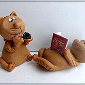 Куклы и игрушки handmade. Livemaster - original item How to become a happy cat. Handmade.