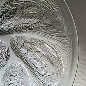 Винтажные тарелки ручной работы. Ярмарка Мастеров - ручная работа Тарелка для устриц Французской марки Acroroc. Handmade.