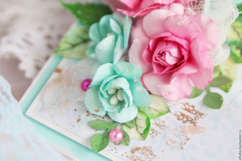 Красивые открытки с цветочками 745