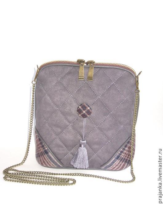 """Женские сумки ручной работы. Ярмарка Мастеров - ручная работа. Купить Женская сумка """" Soft grey"""". Handmade. ретро"""
