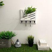 Для дома и интерьера handmade. Livemaster - original item Wall-mounted key holder. Handmade.