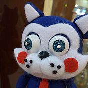 Куклы и игрушки ручной работы. Ярмарка Мастеров - ручная работа Кот Сахар (Sugar) аниматроник. Handmade.