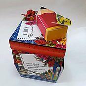 Сувениры и подарки handmade. Livemaster - original item Maxi-box For Dear Teacher!. Handmade.