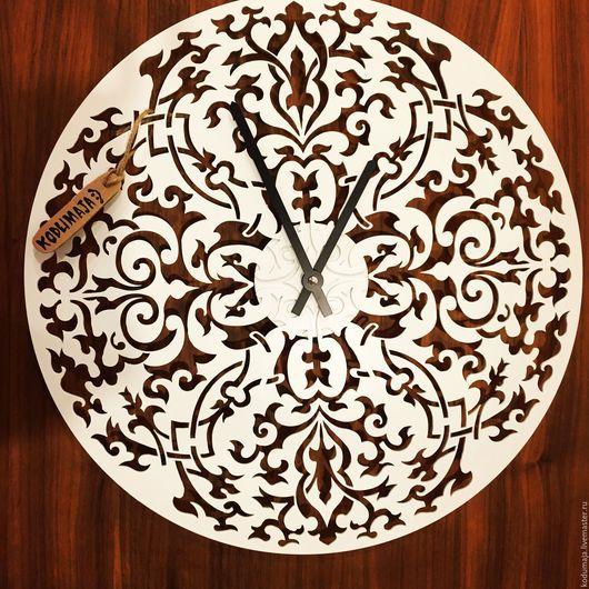 """Часы для дома ручной работы. Ярмарка Мастеров - ручная работа. Купить Часы 39см """"Kudumine"""". Handmade. Часы настенные"""