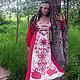 """Одежда и аксессуары ручной работы. Ярмарка Мастеров - ручная работа. Купить Платье """"Веста"""". Handmade. Ярко-красный, платье длинное"""