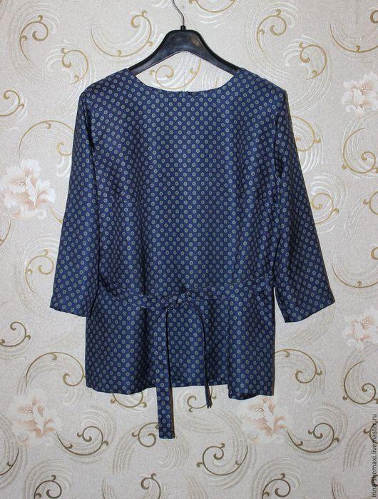 Блузки ручной работы. Ярмарка Мастеров - ручная работа. Купить Блузка из шелка. Handmade. Блузка, сшить блузку, блузка из шелка