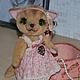 Мишки Тедди ручной работы. Кошечка Николь. Irene Gromi (Teddy Art Boutique). Ярмарка Мастеров. Тедди, кошка тедди