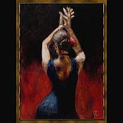 """Картины и панно ручной работы. Ярмарка Мастеров - ручная работа Картина """"Фламенко"""". Handmade."""