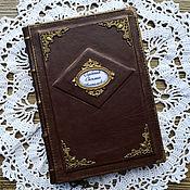 Канцелярские товары handmade. Livemaster - original item Personal diary. Record book. Handmade.