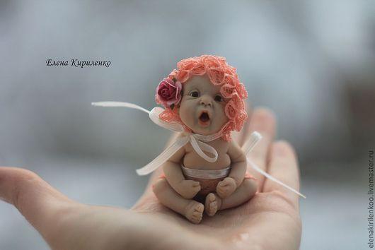 Куклы-младенцы и reborn ручной работы. Ярмарка Мастеров - ручная работа. Купить Жозефина в розовом. Handmade. Розовый, авторская кукла