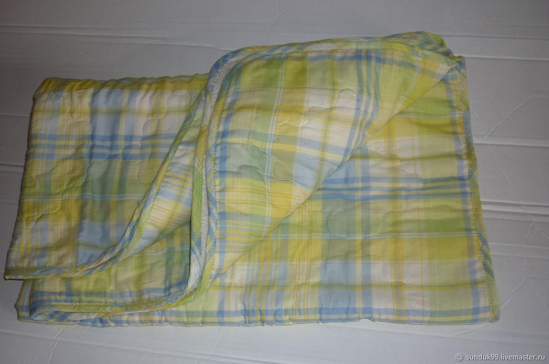 Одеяло детское 110х140см хлопок Комфорт babylove, Текстиль, Москва, Фото №1