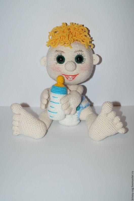 """Человечки ручной работы. Ярмарка Мастеров - ручная работа. Купить Пупс """"Агуша"""". Handmade. Малыш, подарок, мягкая игрушка"""