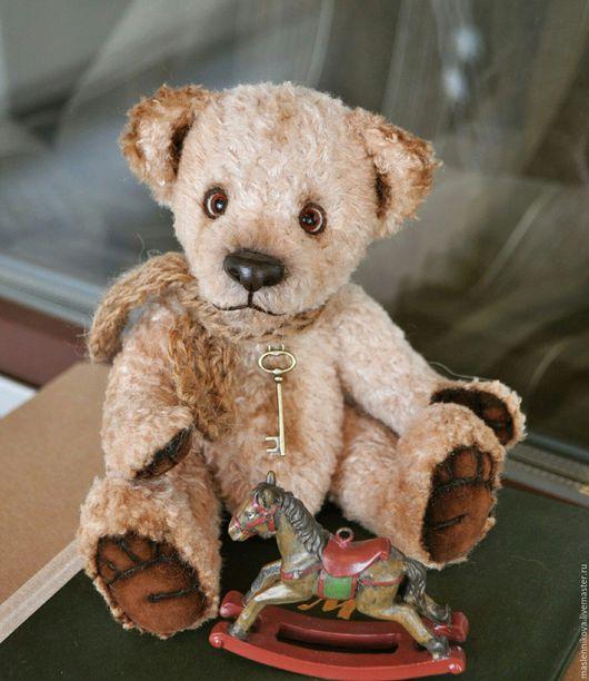 Мишки Тедди ручной работы. Ярмарка Мастеров - ручная работа. Купить Медведь Дэни (21см). Handmade. Бежевый, toys, медвежонок