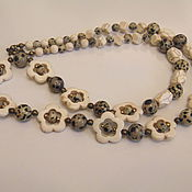 Украшения handmade. Livemaster - original item Beads from natural stones