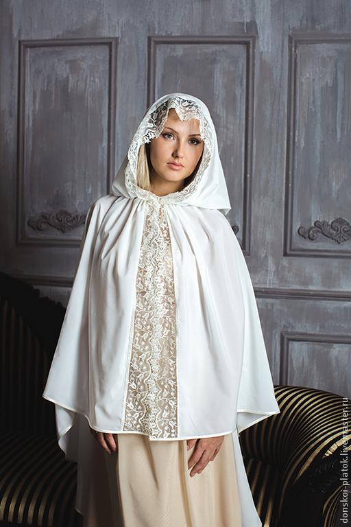 """Шали, палантины ручной работы. Ярмарка Мастеров - ручная работа. Купить платок на венчание """"Виктория"""". Handmade. Лимонный, донской платок"""