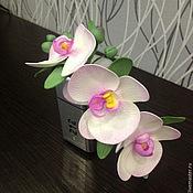 Украшения ручной работы. Ярмарка Мастеров - ручная работа Ободок с орхидеей. Handmade.