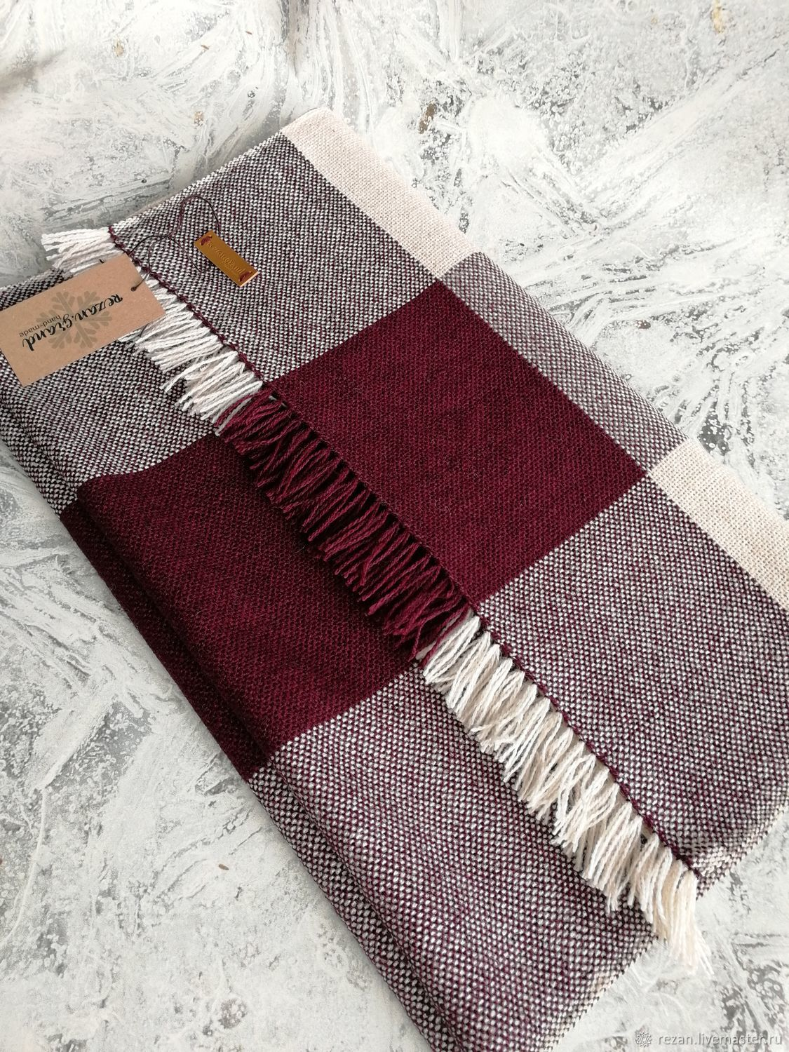 Woven scarf handmade, Scarves, Rubtsovsk,  Фото №1
