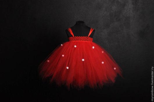"""Детские карнавальные костюмы ручной работы. Ярмарка Мастеров - ручная работа. Купить Костюм """"Минни Маус"""" Платье+ушки на ободке. Handmade."""