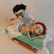 Куклы и игрушки ручной работы. Ярмарка Мастеров - ручная работа Сестра, скальпель!. Handmade.