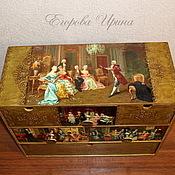 Для дома и интерьера handmade. Livemaster - original item Mini dresser Gallant century. Handmade.