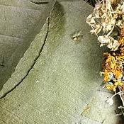 Канцелярские товары handmade. Livemaster - original item Envelopes of nettle handmade. Handmade.