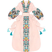 "Одежда handmade. Livemaster - original item Long dress ""Wheatears"". Handmade."