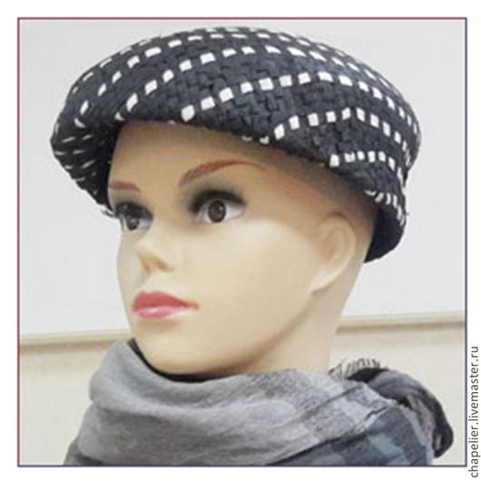 Шляпы ручной работы. Ярмарка Мастеров - ручная работа. Купить Соломенная  шляпка. Handmade. Разноцветный, подарок из соломки