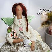 Куклы и игрушки ручной работы. Ярмарка Мастеров - ручная работа Тильда банный ангел, фея.. Handmade.
