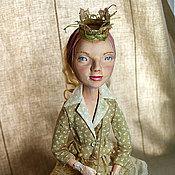 """Куклы и игрушки ручной работы. Ярмарка Мастеров - ручная работа Авторская кукла """"Рора"""" Для примера. Handmade."""