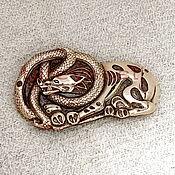 Фен-шуй и эзотерика handmade. Livemaster - original item Belt buckle Wolf and Snake.The Scythians. Handmade.