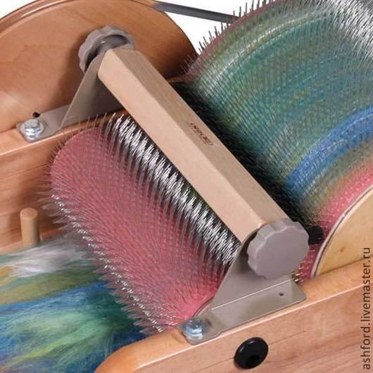Другие виды рукоделия ручной работы. Ярмарка Мастеров - ручная работа. Купить Щетка для среднего кардера (фабрика Ashford). Handmade.