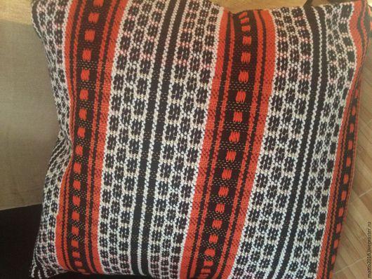 Текстиль, ковры ручной работы. Ярмарка Мастеров - ручная работа. Купить Подушка декоративная ручной работы. Handmade. Комбинированный, подушка