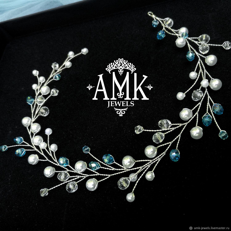 Long hair vine for wedding, Украшения в прическу, Раменское,  Фото №1