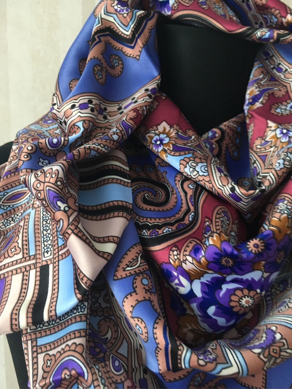 8e446c8050dd Олеся. Ярмарка Мастеров Винтажная одежда и аксессуары. Винтаж  Шелковый платок  Etro.