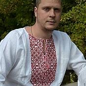 Народные рубахи ручной работы. Ярмарка Мастеров - ручная работа Рубаха Родимич. Handmade.