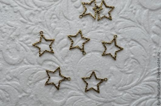 """Для украшений ручной работы. Ярмарка Мастеров - ручная работа. Купить Подвеска """"Звезда"""".. Handmade. Звезда, подвеска для украшений"""