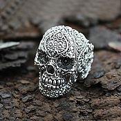 Украшения handmade. Livemaster - original item Skull Ring of silver 925. Handmade.