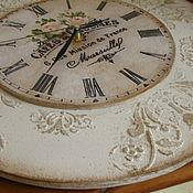 Для дома и интерьера ручной работы. Ярмарка Мастеров - ручная работа Часы с росписью. Handmade.