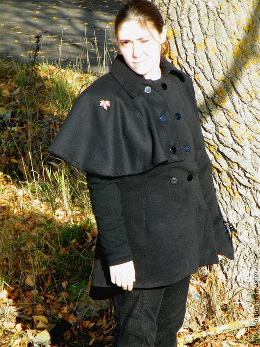 """Верхняя одежда ручной работы. Ярмарка Мастеров - ручная работа. Купить """"Сонет Цурэна"""". Handmade. Черный, Осеннее пальто"""