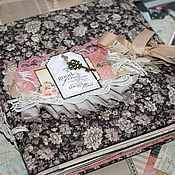 Подарки к праздникам handmade. Livemaster - original item Scrapbook album